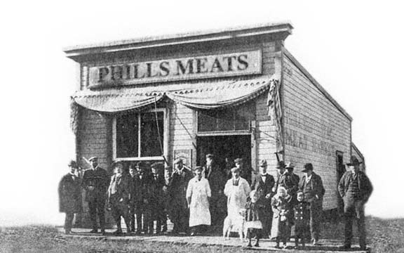 Phills Meat Market, the history of branding.